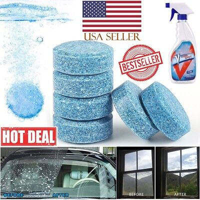 V CLEAN SPOT Multifunctional Effervescent Spray Cleaner lot Wholesale USA SELLER
