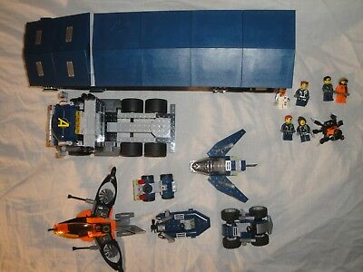 Lego Agents Mobile Command Center 8635 Euc Box And Instructions
