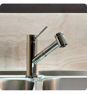 GRAFF SINGLE HANDLE Deck Mounted Pull-Out Kitchen Faucet ...