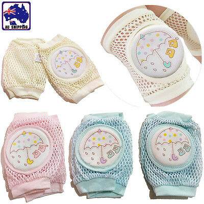 Unisex Baby Infants Toddlers Knee Pads Pad Crawling Protection Cushion BKNEE79