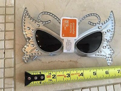 Silver Novelty Eyewear Ages 8 And Up Silver Fancy Glasses Ages 8 and Up