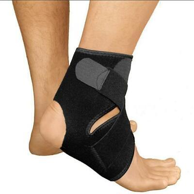 Adjustable Ankle Foot Support Elastic Brace Guard Football Basketball BL3