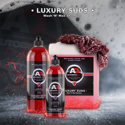 AutoBrite Direct Luxury Suds Concentrated Car Shampoo With Carnauba Wax 500ml