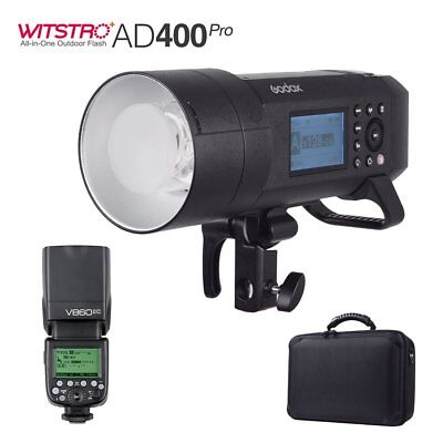 Godox AD400Pro 400W 2.4G X System TTL All-in-One Flash+V860II-C for Canon
