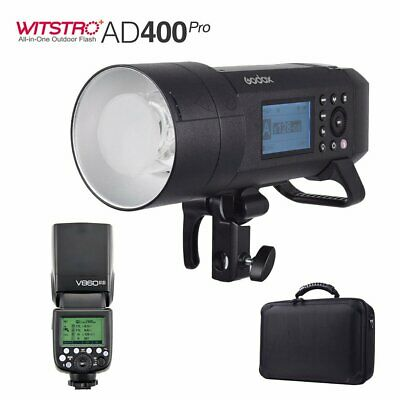 Godox AD400Pro 400W 2.4G X System TTL All-in-One Flash+V860II-S for Sony