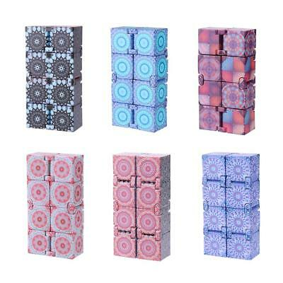 Infinity Magic Cube Mini Fidget Finger EDC Anxiety Stress Relief Block Toy Gifts