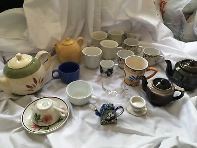 Assorted Vintage Antique Tea Cup Lot