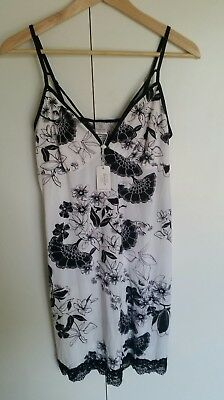 Women's Arial Floral Short Chemise Bras n Things size 12