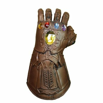 Mask Infinity Gauntlet Avengers Infinity War Gloves Cosplay Halloween Party Prop