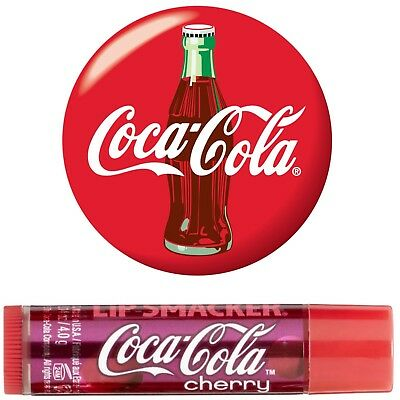 Lip Smacker COCA-COLA CHERRY Lip Balm 4g FREE SHIPPING