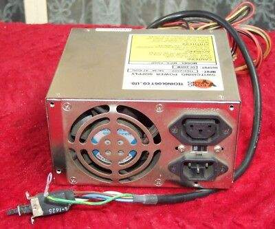 Vintage 200W AT Power supply for 286 386 486 early Pentium computer