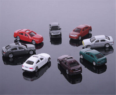 10pcs 1:200 Sand Table Model Plastic Model Car for Building Train Layout Toys  I