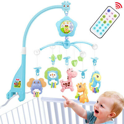 Baby mobile for crib With musical and lights and Projector for Pack and Play