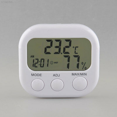 3526 Digital LCD Thermometer Humidity Air Clock Drop Shipping Tool