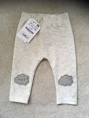 Brand New With Tags ZARA Baby grey Leggings 6-9months