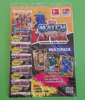 Topps Match Attax 2018/2019 Multipack inkl. Limitierte Auflage 18/19
