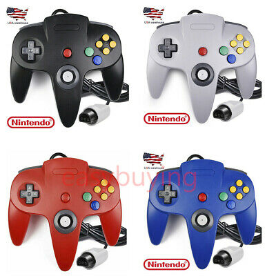 Classic Wired N64 64-bit Game pad Joystick for Ultra 64 Video Game Console