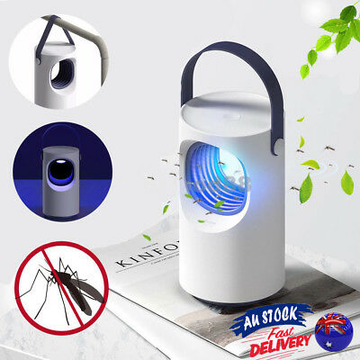 Purple Vortex LED Electronic Mosquito Killer Lamp Indoor Insect Repellent UV