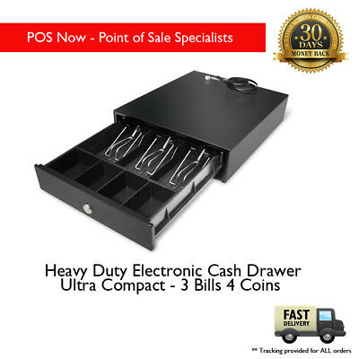 Heavy Duty Electronic Cash Drawer Ultra Compact