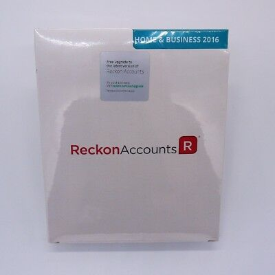Reckon Accounts Home and Business 2016 Perpetual Licence BRAND NEW UNOPENED