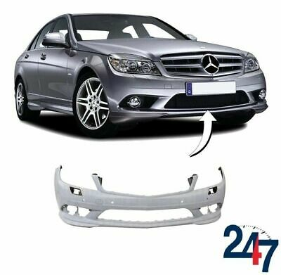 New Mercedes Benz Mb C Class W204 2007 - 2011 Primed Amg Front Bumper With Pdc