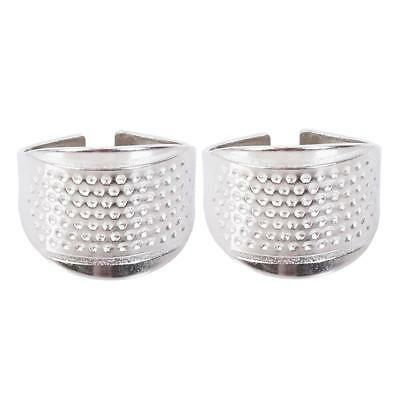 Home sewing DIY tools silver thimble ring thimble home supplies home FW