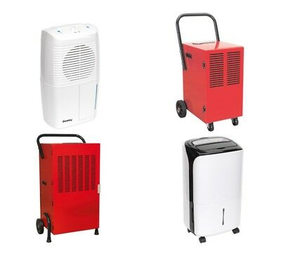 Sealey Industrial Dehumidifier Air Purify Dry Moisture Damp Drying Room Dryer