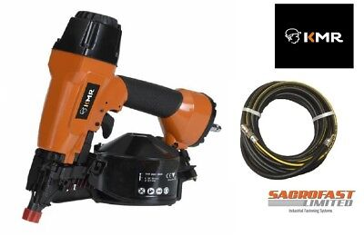 Kmr 3551 Air Coil Nailer With 10M Air Hose