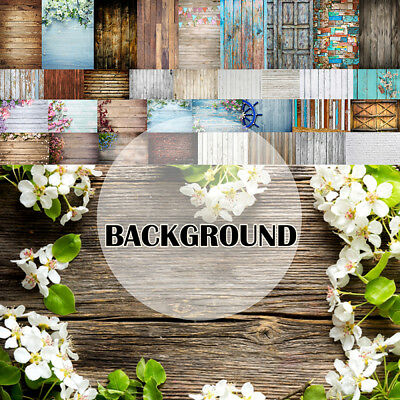 WALL BRICK FLOOR FLOWER WOOD PHOTO PHOTOGRAPHY BACKDROP Baby BACKGROUND PARTY UK