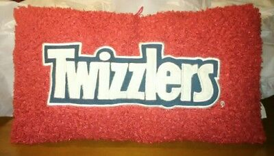 TWIZZLERS Brand Very Soft Plush Pillow