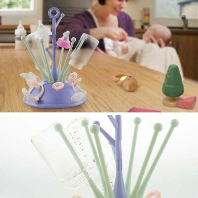 EA31 Cleaning Baby Glass Drying Rack Deluxe Plastic 3 Colors Storage Holder Cup