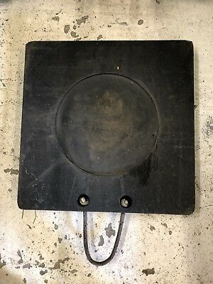 Premium 500x500x60 Outrigger Pad Spreader Plate Stabiliser Pad Crane Pad