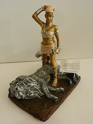 Artemis Diana Lion Greek God 7.9'' Greek Mythology God Hunt Figurine Statue