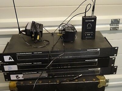 Beyer Dynamic S 350 Radio Microphone systems - 3 in total