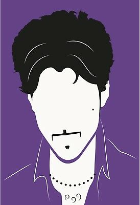 Prince Tea Towel Purple Rian