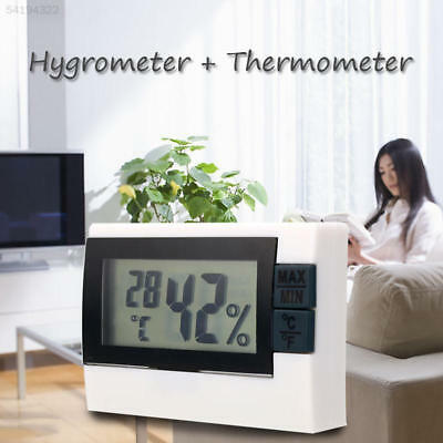 9EF7 Digital LCD Indoor Home Room Thermometer Hygrometer Temperature Humidity Me