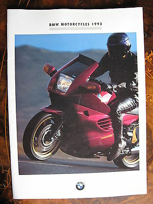 BMW Motorcycles 1993 20 page Brochure with Posters