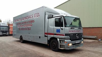 Mercedes Actros 18 Tonne Removal Truck/Vehicle/Lorry
