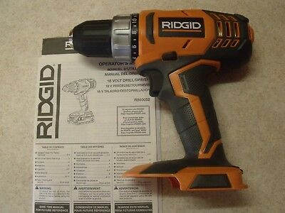 "NEW Ridgid Hyper Lithium 1/2"" Cordless 2 Speed Drill Driver"