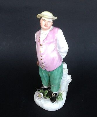 18Th Century Meissen Porcelain Figurine C1745 Restoration Piece