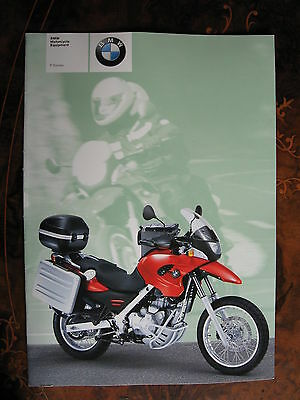 BMW F Series Mororcycle   15 page Brochure