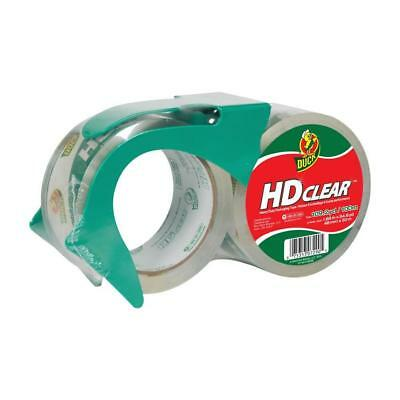 Duck HD Clear 2-Pack 1.88-in x 54.6-Yard Clear Packing Tape