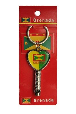 CANADA OLD FASHION KEY Design With Country Flag In a HEART