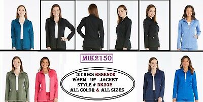 Dickies Scrubs Essence Women Warm-Up Jacket DK302 Choose Color and Sizes - NWT