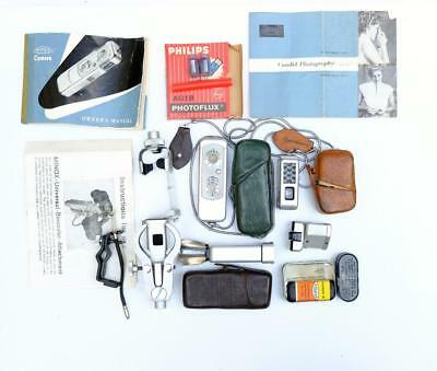 MINOX III SUB MINITURE with MANY ACCESSORIES ALL V G CONDITION
