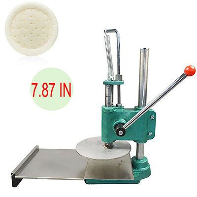 Pizza Crust/Dough/Base Pastry Manual Press Machine Roller Sheeter Pasta Maker CE