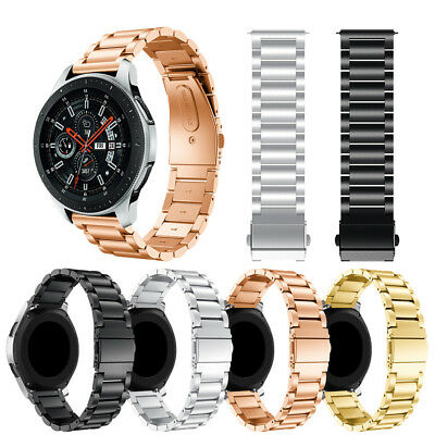 Stainless Steel Metal Replacement Band Strap for Samsung Galaxy Watch 46mm 42mm