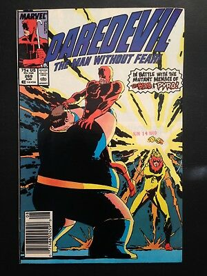 Daredevil #269 (1989) FN/VF Freedom Force appearance.