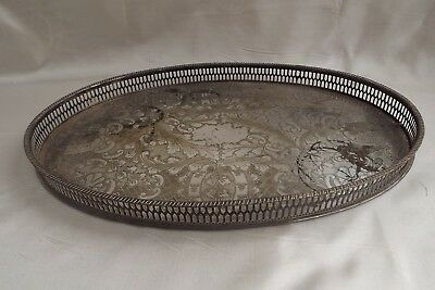 silver plated tray viners