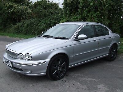 2004 Jaguar X-Type 2.5 V6 Automatic 4Wd Saloon Full Leather Alloys No Reserve
